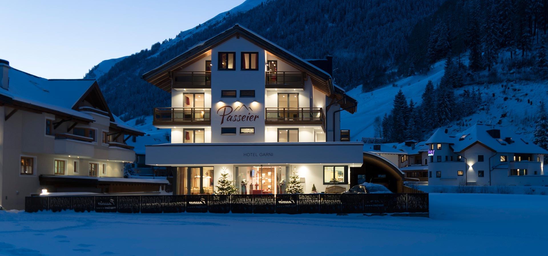 Herzlich Willkommen im Hotel Garni Passeier in Ischgl