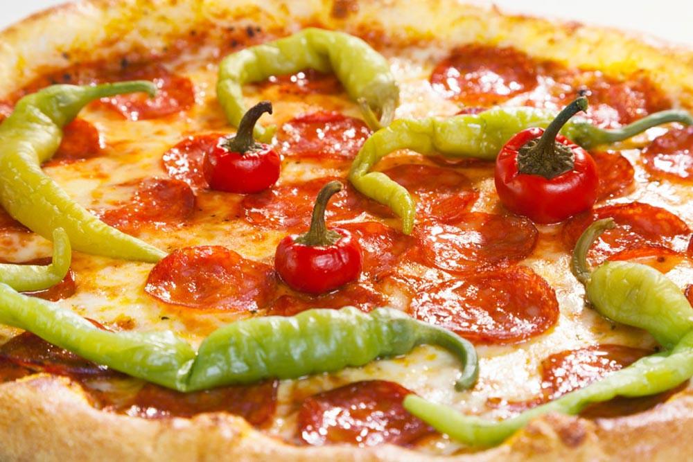 Pizza Gerichte