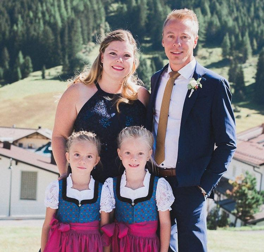 Familie Walser, in Ischgl